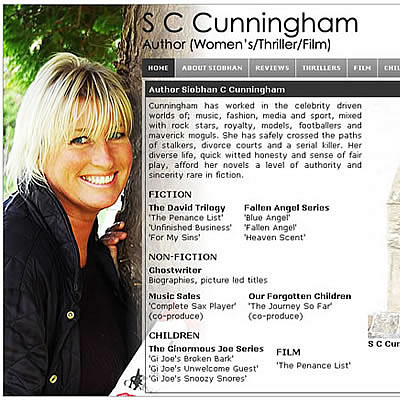 Author - S C Cunningham