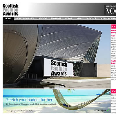 Scottish Fashion Awards 2010