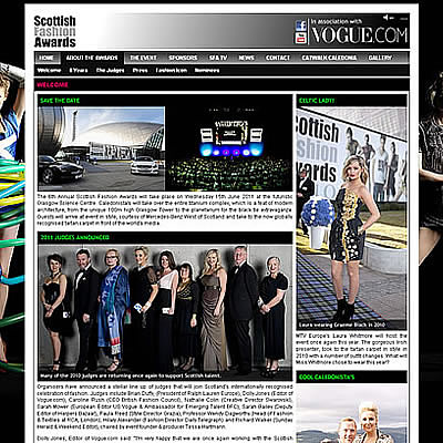 Scottish Fashion Awards 2011