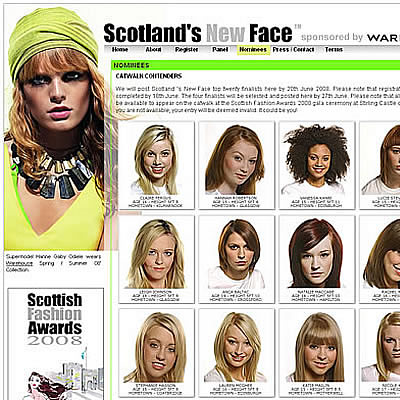 Scotland's New Face 2008