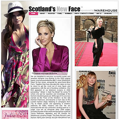 Scotlands New Face 2009