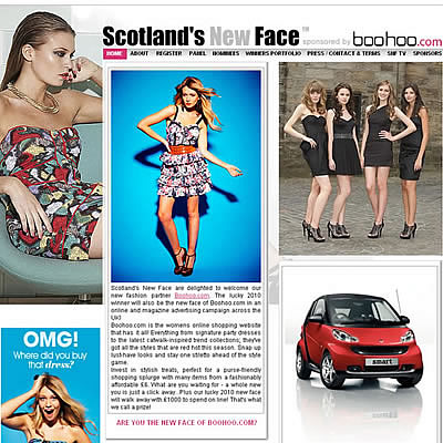 Scotlands New Face 2010