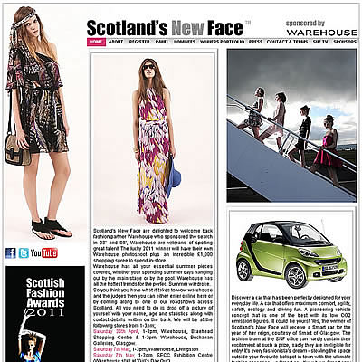 Scotland's New Face 2011