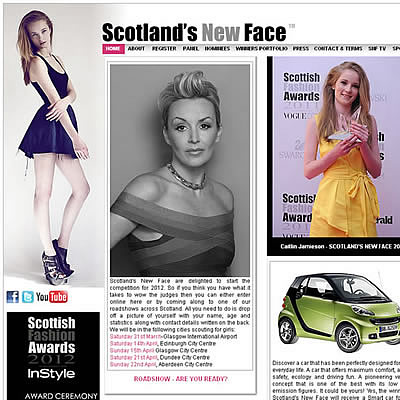Scotland's New Face 2012