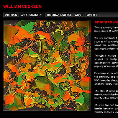 William Cookson's Portfolio